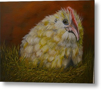 Metal Print featuring the painting Hector by Marlyn Boyd