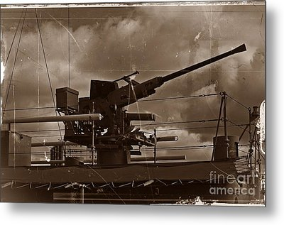 Metal Print featuring the photograph Hmas Castlemaine 5 by Blair Stuart