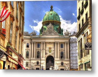 Hofburg Palace - Vienna Metal Print by Jon Berghoff