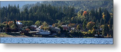 Metal Print featuring the photograph Home Sweet Kaslo by Cathie Douglas