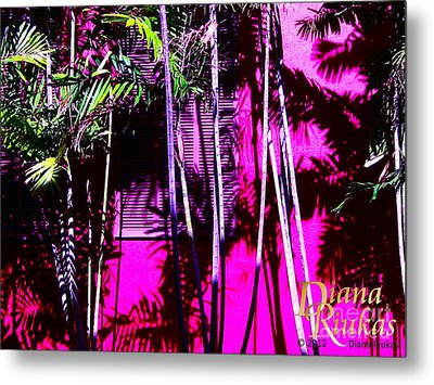 Metal Print featuring the photograph Hot Caribbean Day by Diana Riukas