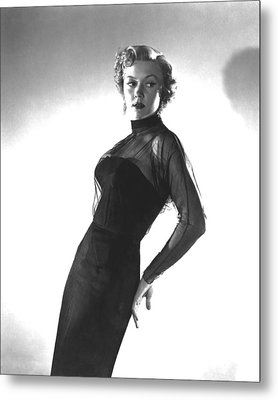 In A Lonely Place, Gloria Grahame Metal Print by Everett