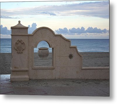 Inside The Outside Metal Print by Val Oconnor