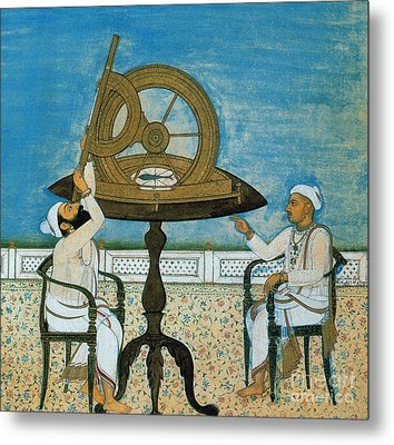 Islamic Astronomers Metal Print by Science Source