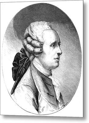 Jean D'alembert, French Mathematician Metal Print by