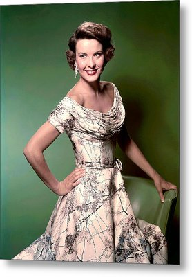 Jean Peters, Ca. 1950s Metal Print