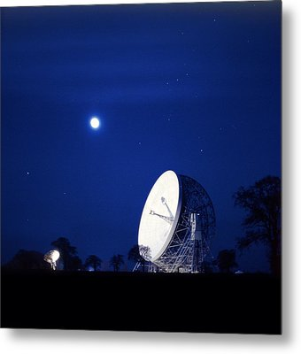 Jodrell Bank Observatory Metal Print by Richard Kail