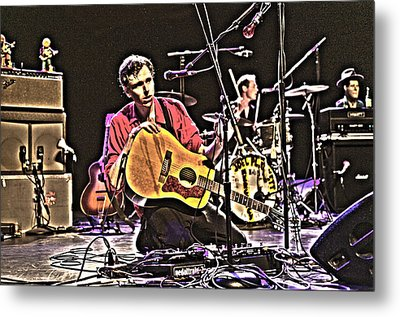 Joel Plaskett Metal Print by Jeff Ross