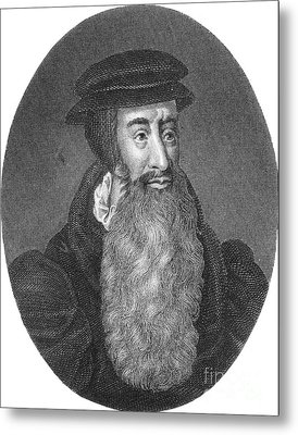 John Knox, Scottish Protestant Metal Print by Photo Researchers