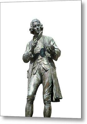 Joseph Priestley, British Chemist Metal Print by Martin Bond
