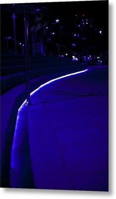 Just Blue Metal Print by Tal Richter