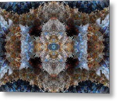 Kaleidoscope Metal Print by Christopher Gaston