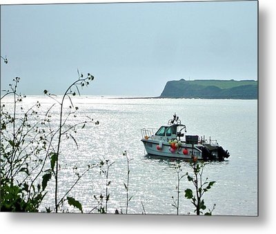 Metal Print featuring the photograph Kimmeridge by Katy Mei