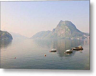Lago Di Lugano Metal Print by Joana Kruse
