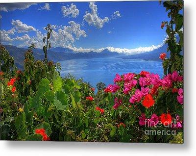Lake Atitlan Guatemala Metal Print