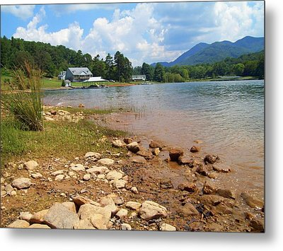 Metal Print featuring the photograph Lake Chatuge View by Lou Ann Bagnall