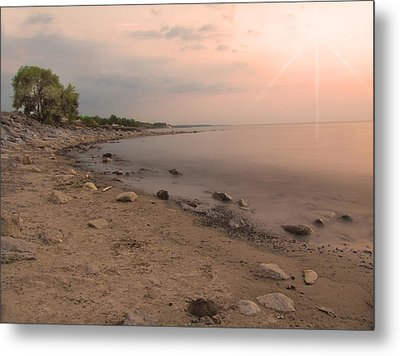 Lake Erie Sunset Metal Print