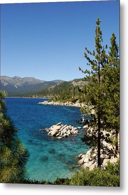 Lake Tahoe Shoreline Metal Print by Scott McGuire