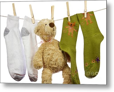 Laundry Metal Print by Blink Images