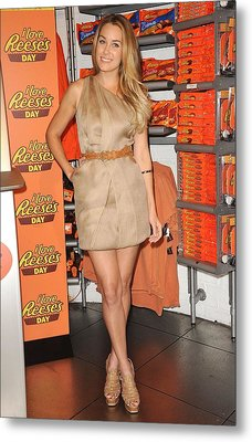 Lauren Conrad At A Public Appearance Metal Print by Everett