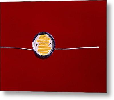 Light-dependent Resistor Metal Print by Andrew Lambert Photography