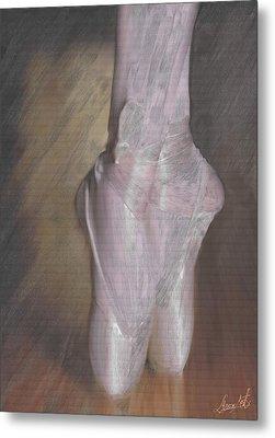 Light On Her Feet Metal Print by Lance  Kelly