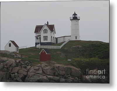 Lighthouse Metal Print by Claire Reilly