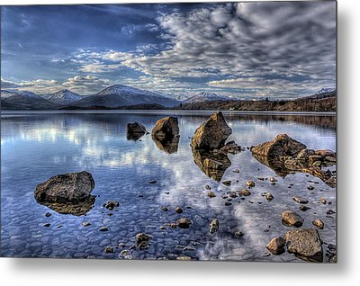 Loch Lomond Metal Print by Fiona Messenger