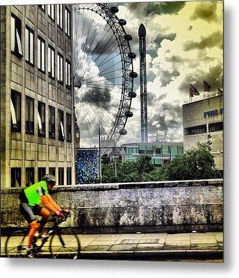#london #london2012 #ignation #instahub Metal Print by Vanessa C