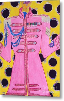 Lonely Hearts Club Member Ringo Metal Print by Barbara Nolan