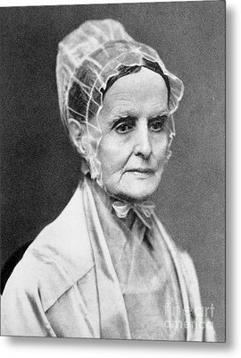 Lucretia Coffin Mott Metal Print