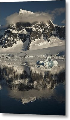 Luigi Peak Wiencke Island Antarctic Metal Print by Colin Monteath