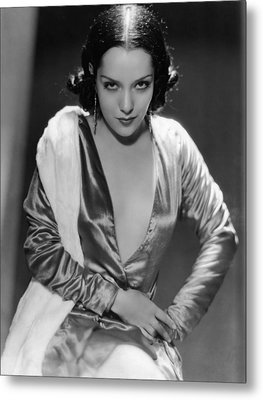 Lupe Velez, Ca. Early 1930s Metal Print by Everett