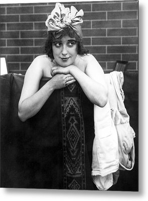 Mabel Normand, Ca. 1910s Metal Print by Everett