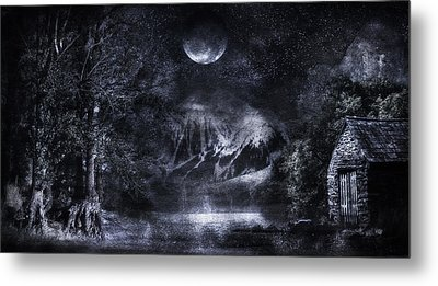 Magical Night Metal Print by Svetlana Sewell