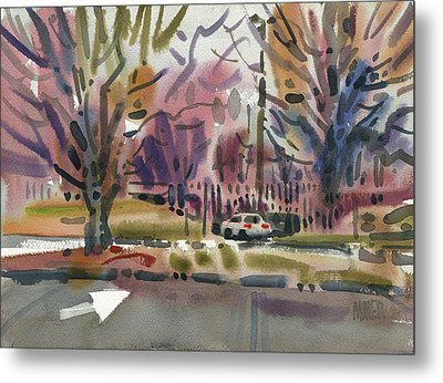 Mall Entrance Metal Print by Donald Maier