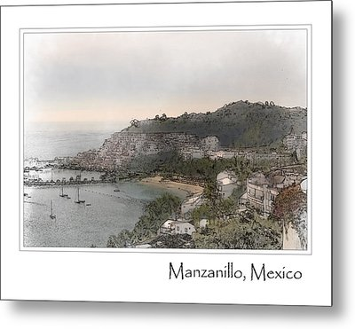 Manzanillo Mexico Metal Print