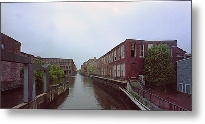 Market Mills Lowell Metal Print by Jan W Faul