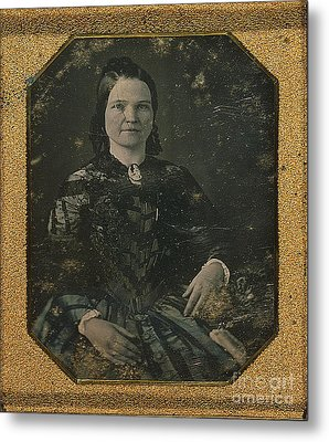 Mary Todd Lincoln, First Lady Metal Print by Photo Researchers