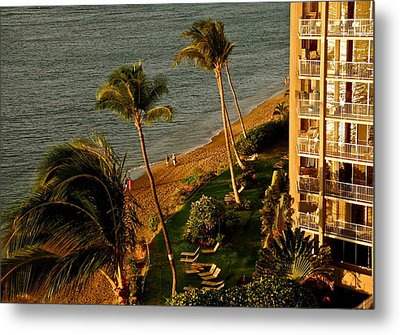 Metal Print featuring the photograph Maui Sunset by Kirsten Giving