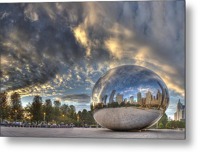 Millennium Park Metal Print by Twenty Two North Photography