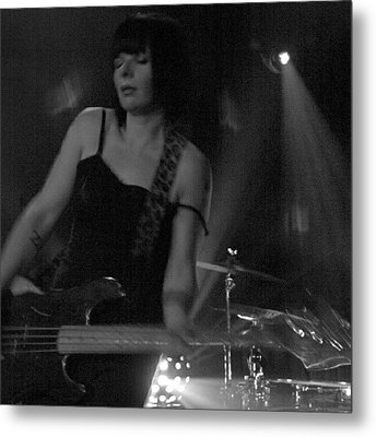 Misti Watkins Of Motel Aviv Metal Print by James Granberry