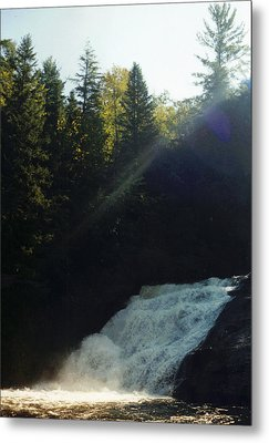 Metal Print featuring the photograph Morning Waterfall by Stacy C Bottoms