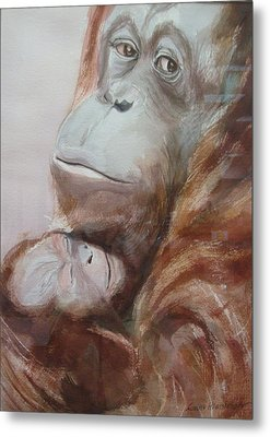Mother Love Metal Print