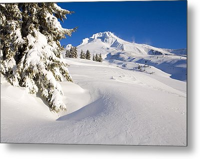 Mount Hood, Oregon, United States Of Metal Print by Craig Tuttle
