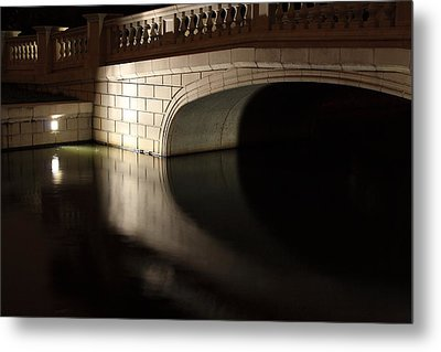 Metal Print featuring the photograph Mystery Bridge by Scott Rackers