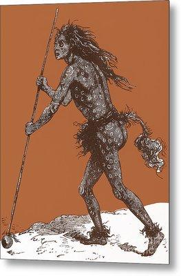 Native American Shaman Metal Print