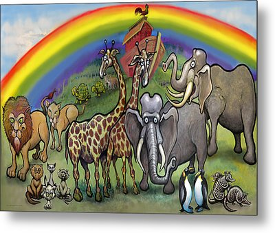 Noah's Ark Metal Print by Kevin Middleton