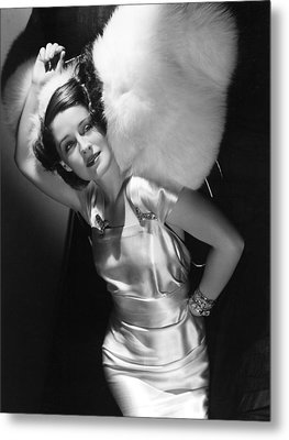 Norma Shearer Metal Print by Everett