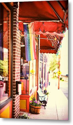 Northampton Ma Metal Print by HD Connelly